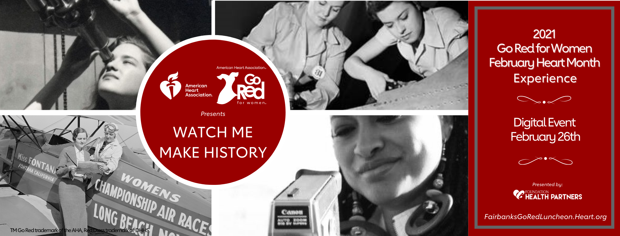 Watch me make history banner photo