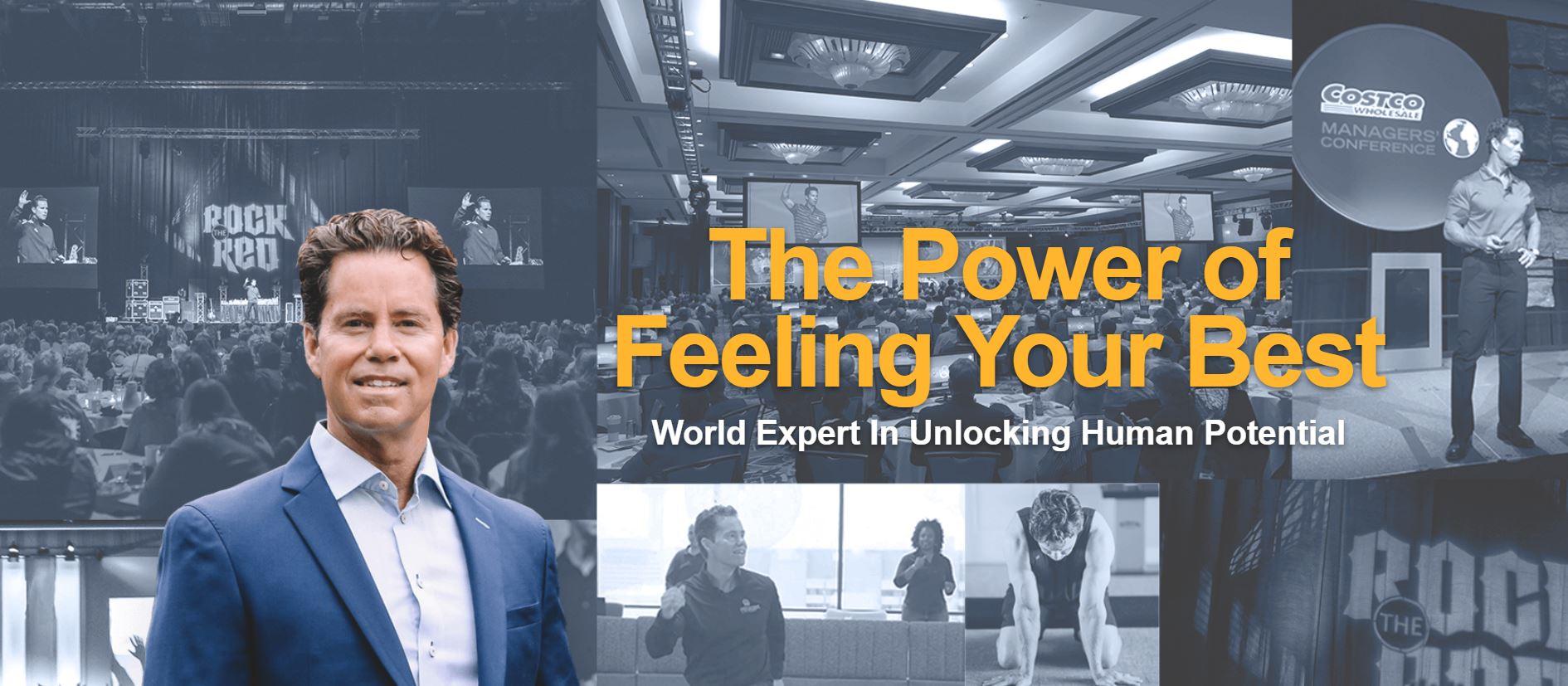 Chris Johnson - The power of feeling your best