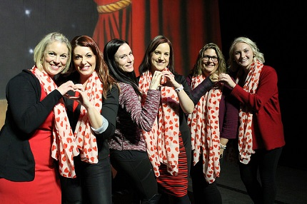 Attendees of 2018 Go Red Event